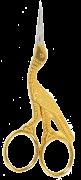 Gold Stork Scissors